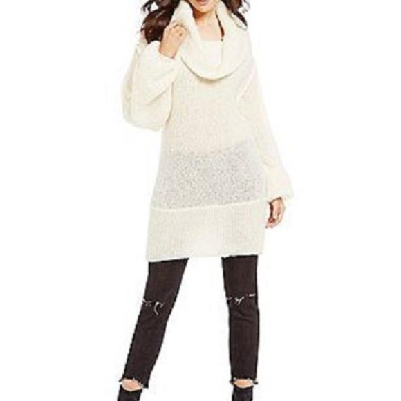 266242cda4 Free People Ophelia Cowl Neck Alpaca Sweater Small.  M_5bf6fe93df0307dd03f644ca